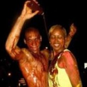 Sharon Smalls in the offending picture.