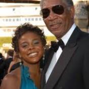 Morgan Freeman and E'Dena-2012